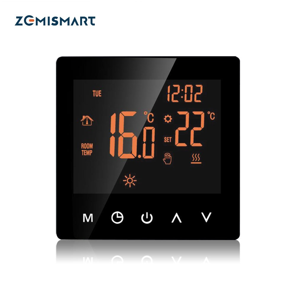 Heating Wifi Thermostat For Electric Floor Heater With Lcd