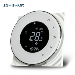 WiFi Thermostat for Air Condition Compatible with Amzon Alexa Google Home Smart Life app Control Programable