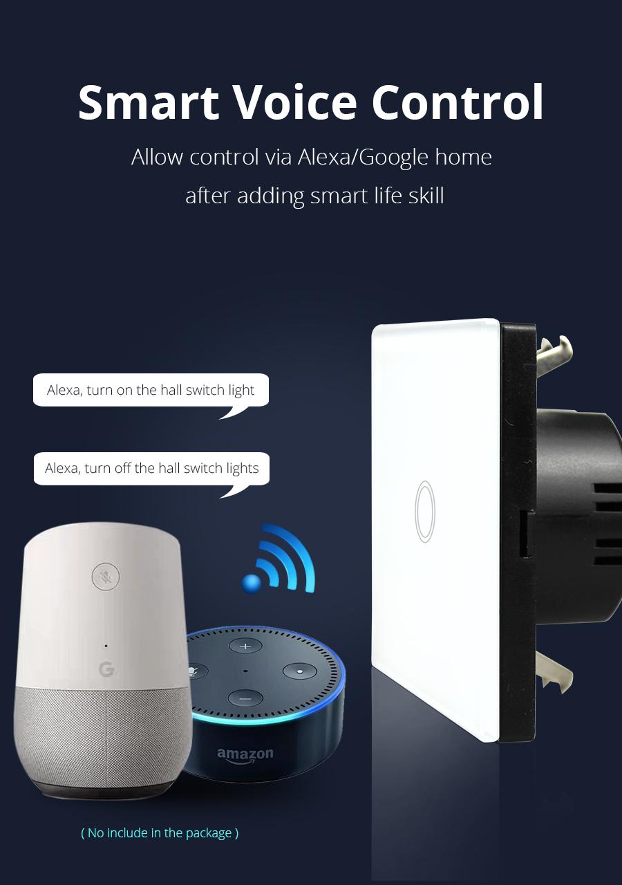 Zemismart Wifi Wall Switch 2 Way Remote Control Light