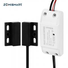 Zemismart Wifi Garage Door Controller for Car Garage Door Opener APP Remote Control Timing Voice Control Alexa Google IFTTT