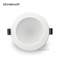 Zemismart SAA 3.5 inch WiFi RGBCW Led Downlight 10w Voice Control by Alexa Echo Google Home Assistant Home Automation IFTTT