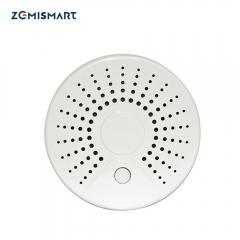 Zemismart WiFi Tuya Smart Smoke Sensor 100DB wifi Smart Home Device Surveillance Wireless Smoke Detector