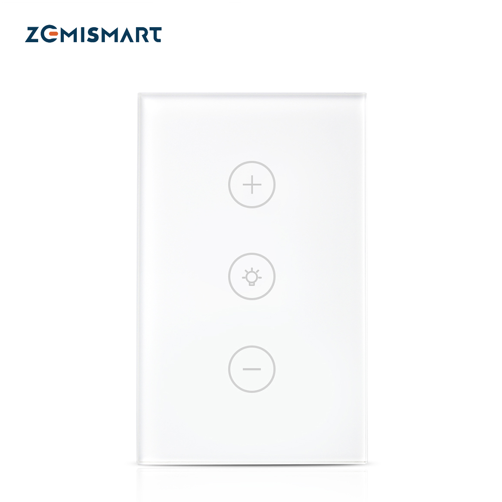Zemismart Us Dimmer Swith Touch Switch Work With Alexa