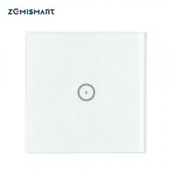 Zigbee UK One Gang Wall Light Switch Compatible with tuya Zigbee Hub No  Neutral Wire Required