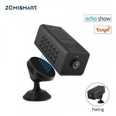 Zemismart wifi IP Mini Camera Home Security Wireless Surveillance Camera Remote Monitor Camera Onvif 1080P HD Echo Show