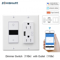 Dimmer Switch with Outlet