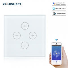 Zemismart WiFi switch for Fan light Compatible with Alexa Google Home Smart Life App Control