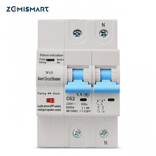 Zemismart WiFi Relay Tuya Smart Life APP Control Smart Home Timer Remote Control
