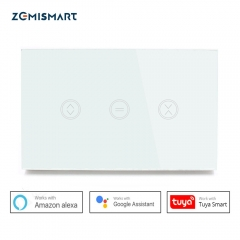 Zemismart US WIFI Blind Switch Curtain Wall Switch WiFi Control via APP or Voice Control by Alexa Google Home Smart Home With Feedback